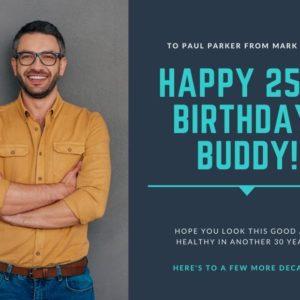 create birthday card with photo